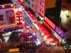Вид на продуктовый рынок из отеля в Шэньчжэнь