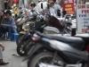 Улицы Ханоя, парковка скутеров
