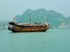 Вьетнам, остров Кат Ба. Туристический корабль