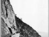 Подпорная стена, каменная одежда откоса выемки и тоннель №18 на 49 версте