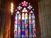 Витраж в соборе святого Витя в Праге