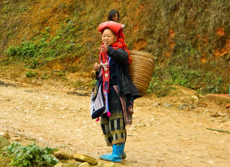 Вьетнам. Сапа. Местные племена.