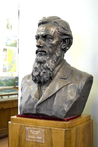 Бюст И. Д. Черского в музее землеведения МГУ