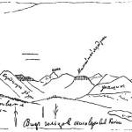 Вид от озера Ильчир на восток, к верховьям Китоя