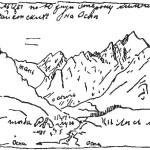 Гольцы к югу от сойотских зимников в верховьях реки Оспы