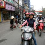 Поездка на мотоциклах (Магда на мотоцикле)