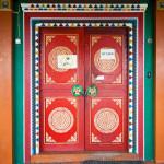 Мне очень понравились расписные двери, всё сделано красиво