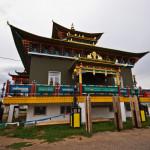 Дара Эхын дуган, храм Зелёной Тары.