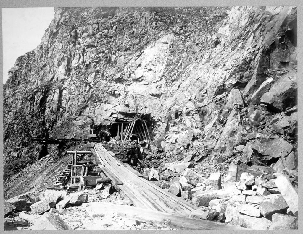 Разработка калотты тоннеля