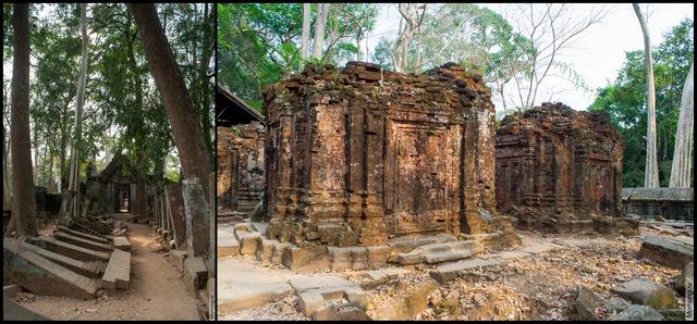 """Прасат Том (""""Великий храм"""") -- это комплекс посвящён Господу трёх миров (Повелителю Триединого Мира)"""