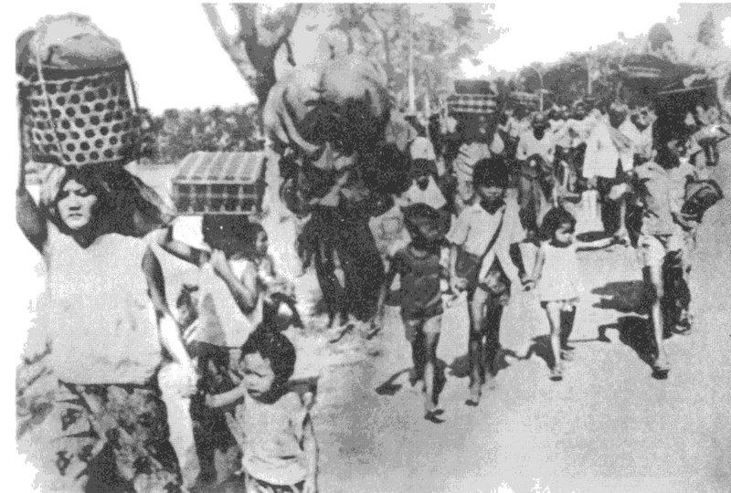Выселение горожан в сельскохозяйственные коммуны. Апрель 1975 года.