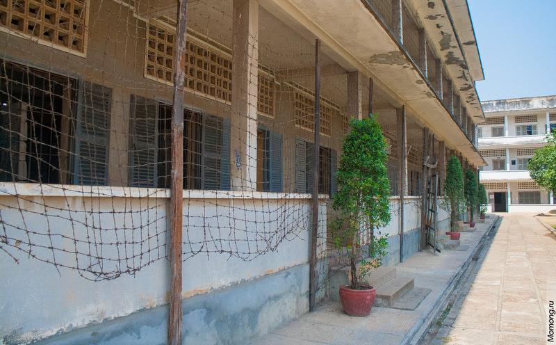 Тюрьма безопасности 21, ныне музей геноцида в столице Камбоджи